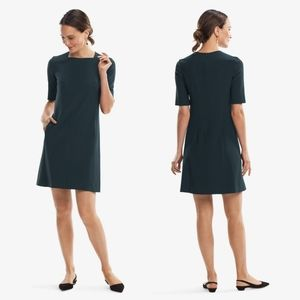 MM LAFLEUR Green Rainforest Emily Sheath Dress